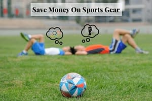Save money on sports gear with these awesome money saving tips! #savemoney #sports #savingmoneytips #moneysavingtips