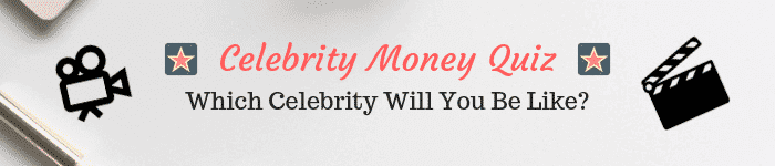 Talking about money saving tips, money management, money making tips, debt payoff, investing, etc... can get pretty boring. So, i put together this celebrity money quiz to have some fun with money and take the stress out of money management for a bit! Check out this celebrity money quiz and see what celebrity you would be like if you strike it rich! will you be frugal living or will you invest your money? Will you spend all your money on shopping? Check it out now! #money #celebrity #quiz #funny
