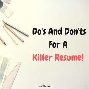 This is an AMAZING post on the do's and don'ts for a KILLER RESUME! Before you go all crazy researching job interview tips make sure to follow these resume tips and build a KILLER resume design. My first career advice to you is to have a great resume! So check out this post where you get some resume tips on what you should and shouldn't do when writing your resume! #resumetips #jobinterviewtips #careeradvice #jobs