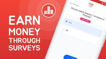 Earn money through surveys on Poll Pay