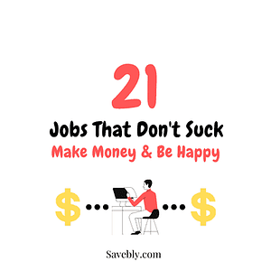 Jobs that don't suck cover