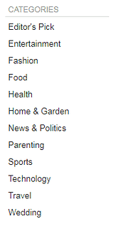 Swagbucks video categories