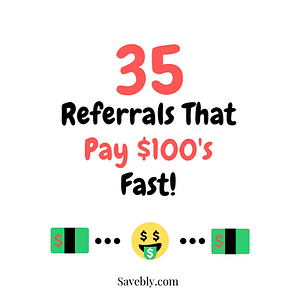 Referrals That Pay $100's Fast!