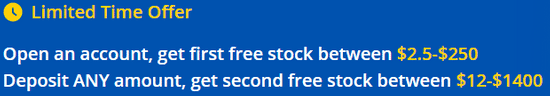 Webull referral program for free stocks
