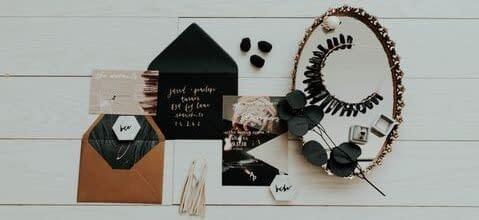 Create items for weddings