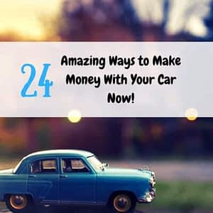 Make money with your car now!