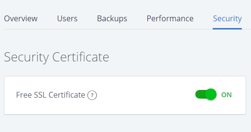 Activate your free ssl for your website or blog on Bluehost
