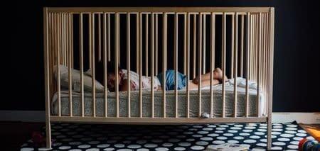 Make wooden baby cribs