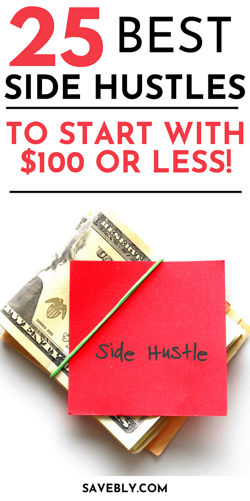 25 Best Side Hustles To Start With $100