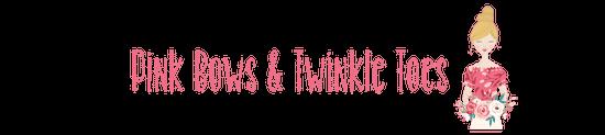 Pink Bows & Twinkle Toes Printables