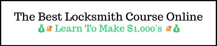Locksmith Course Online
