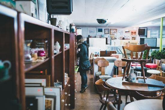 purchasing second-hand items are a easy way to save money easily