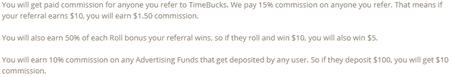 Make money referring people to Timebucks