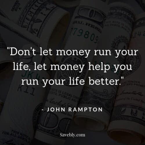 One of the best money mindset quotes on how to use your money to make your life better