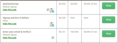 Make money with micro-tasks on Timebucks