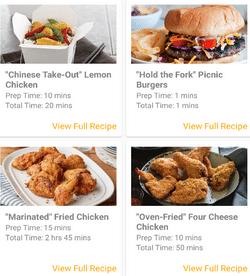 Recipe Examples