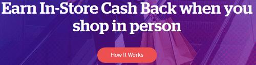 Rakuten In-Store Cash Back