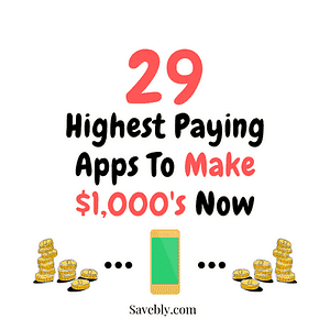 Check out the highest paying apps to make money!
