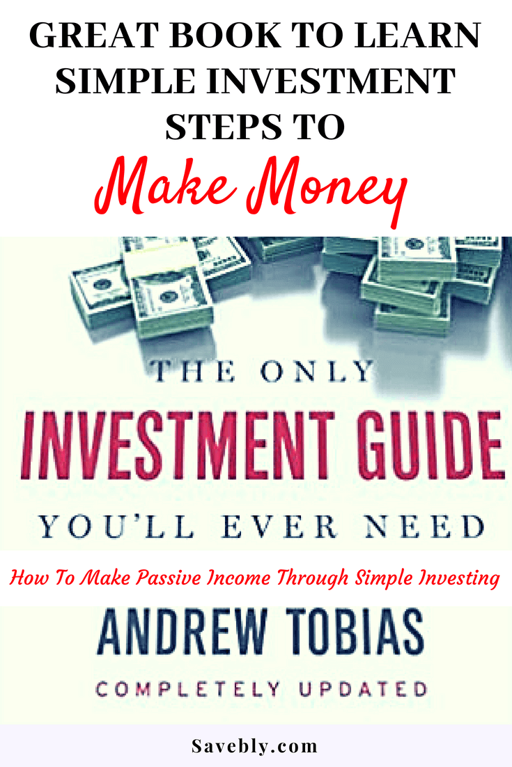 The only investment guide you'll ever need is a great book to make money through investments. Make investing simple with this great book!