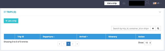Airmule account dashboard