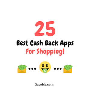 Cash back apps for shopping