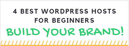 Best wordpress hosts for beginners to build their website or blog
