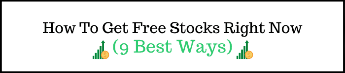 How To Get Free Stocks