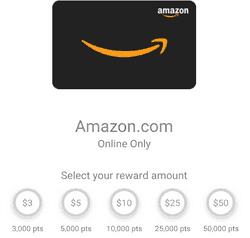 Fetch Rewards Amazon Gift Card