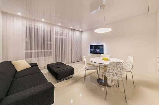 improve the lighting in your home to open up the room and make it look brighter