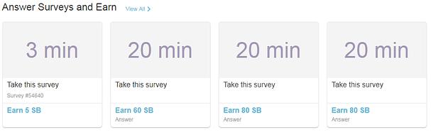 Swagbucks surveys