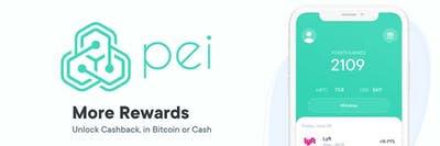 Check out Pei cash back