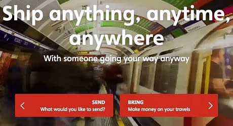 Make money shipping items with Nimber