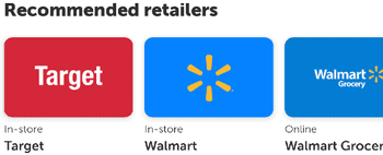 Recommended Retailers On Ibotta