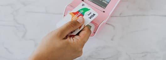 Using a Visa gift card