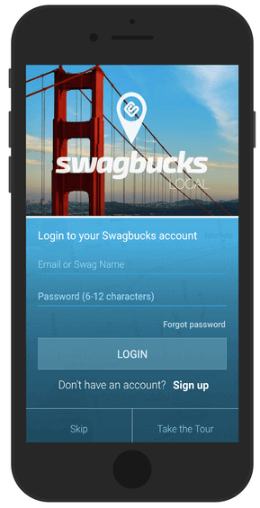 Get paid to eat with Swagbucks cash-back
