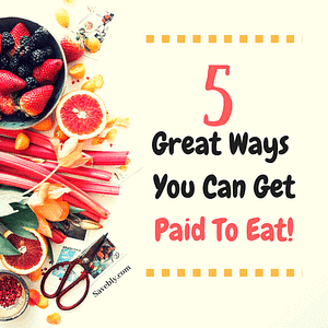 I know you get tired of cooking all the time and eating the same recipes OVER AND OVER! So, sometimes you just want to go out and eat food but it can get pretty PRICEY! But... What if you can GET PAID TO EAT?! Yes, that's right, you can GET PAID TO EAT! Here I show you 5 GREAT WAYS YOU CAN GET PAID TO EAT! Some are so simple that you should do it because there is no additional work for you! Eat what you want and make some extra money! #food #money #recipes #eating