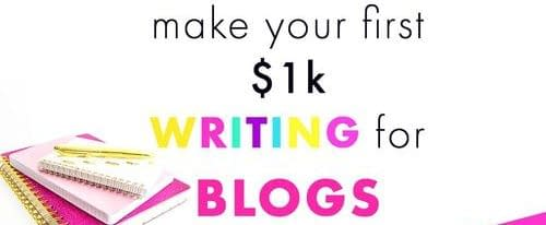 Become a freelance write to make 200 dollars every day