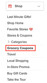Swagbucks Grocery Coupons