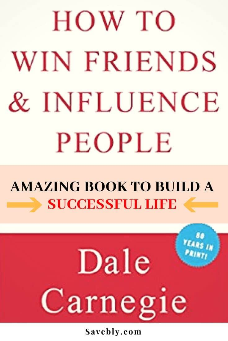 This book is amazing! How to Win Friends and Influence People is an amazing book with tips on how you can build the life you want! Learn the steps needed to be successful.