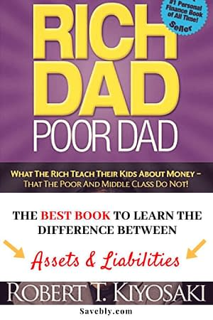 Rich Dad Poor Dad is a classic book to add to your collection! This amazing book that teaches you the difference between assets and liabilities!