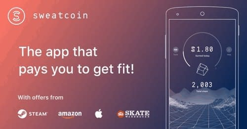 Sweatcoin is an app that pays you to get fit