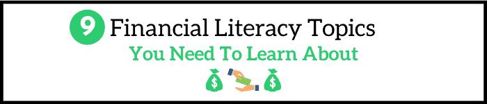 Financial Literacy Topics
