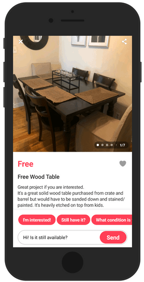 Get Free Wood Items And Sell Them For Profit