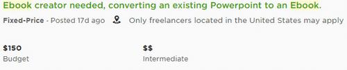 ebook design jobs