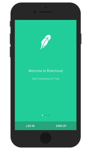 Robinhood is one of the highest paying apps