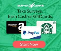 Take surveys for PayPal cash on Survey Junkie