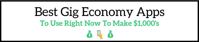 Best Gig Economy Apps